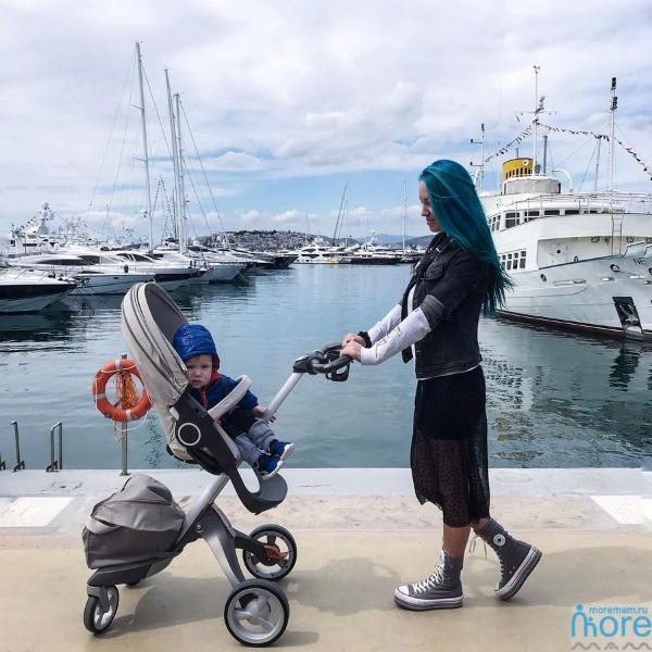 русская мама в Греции