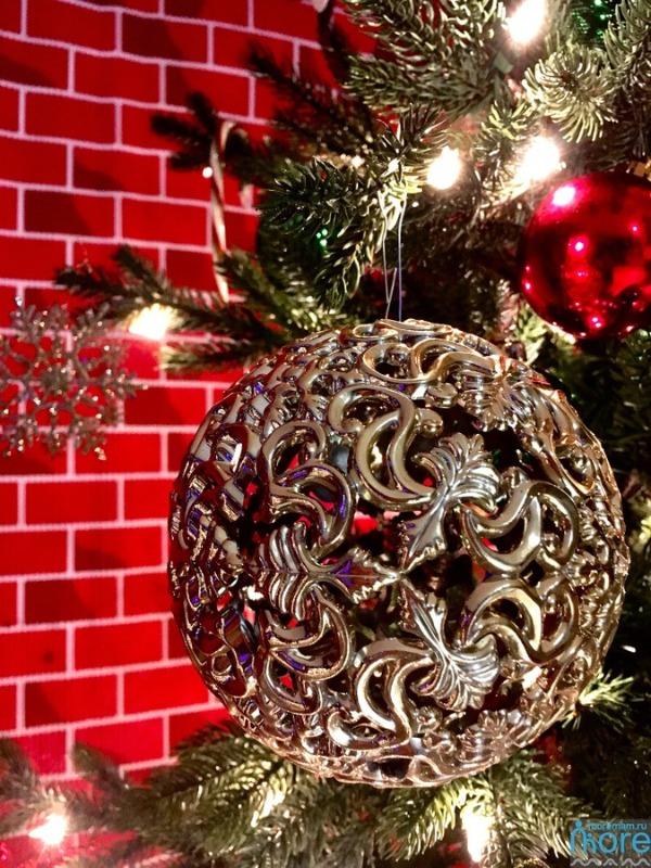 новогодний шар на год быка