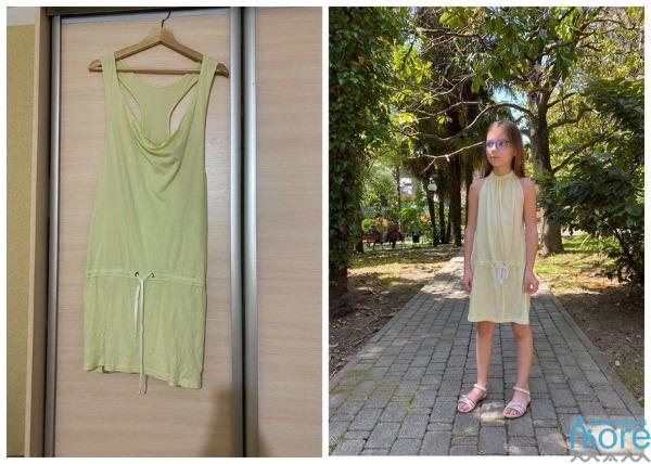 переделка взрослой одежды в детскую